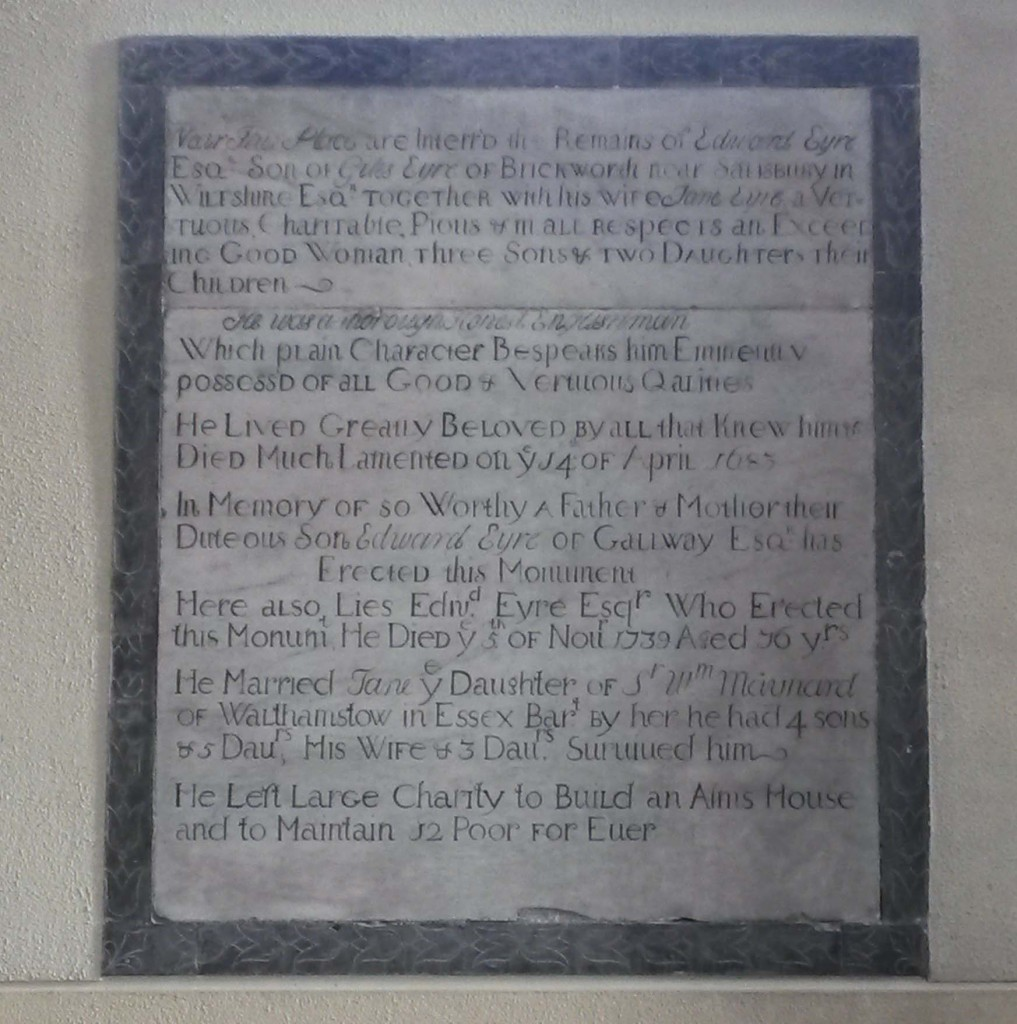 Eyre memorial Galway